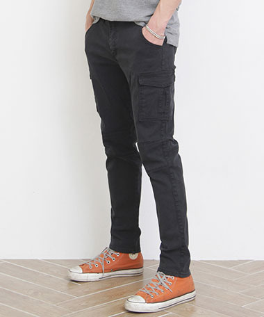 [2/21 발송]CP-003 washing cargo Pants_BK