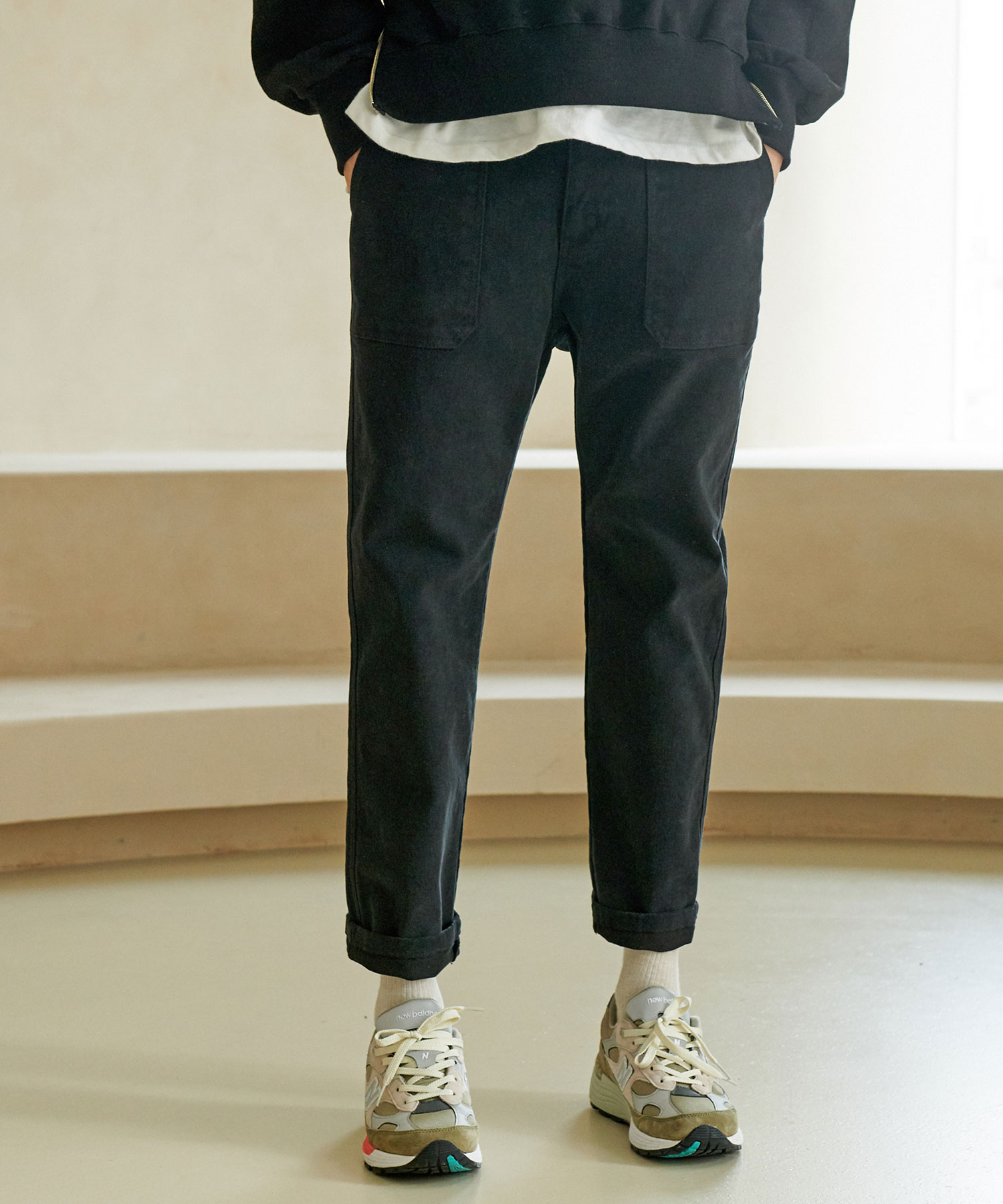 CP-768 LYCRA Fatigue Pants_BK